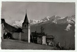 Suisse // Schweiz // Switzerland //  Valais // Verbier, L'église Et Le Combin - VS Valais