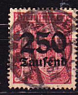 Deutsches Reich German Empire Empire Allemand - Dienstmarke/Service (Mi.Nr. 93) 1923 - Gest. Used Obl. - GEPRÜFT - Dienstzegels