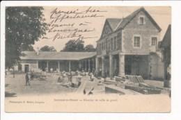 Carte De Louvigné Du Désert Chantier De Taille De Granit  ( Tailleurs De Pierres Métier )  ( Recto Verso ) - Frankrijk