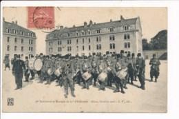 Carte De Dijon Territorial Et Musique Du 27e D'infanterie 1906 ( Fanfare Militaire ) - Dijon