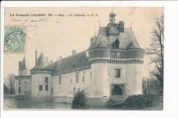 Carte  De  Moy  Le Château  ( La Picardie Illustrée ) - Frankrijk