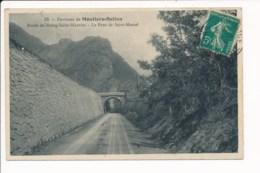 Carte Des Environs De Moutiers Salins Route De Bourg Saint Maurice Le Pont De Saint Marcel - Moutiers