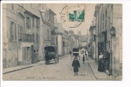 Carte  De  Meaux  La Rue Cornillon - Meaux