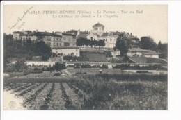 Carte De  Pierre Bénite Le  Perron - Pierre Benite