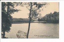 Carte De  La Forêt De Chantilly Coye Les étangs De Commelles - Chantilly