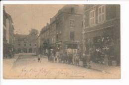Carte Précurseur Année 1899 De Longwy Grande Rue  ( Coiffeur / Boutique  F. Bastian ) ( Cachet Differdange ) - Longwy