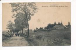 Carte De Crotenay Route De Champagnole - Francia