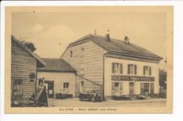 LA CURE Hôtel ARBEZ  ( Hôtel Franco Suisse ) Côté Suisse  ( Recto Verso ) - VD Vaud