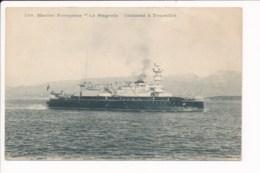 Carte Du Bateau  Marine Française Le Magenta Cuirassé à Tourelles - Oorlog