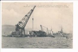 Catastrophe Du Cuirassé Liberté 1911 ( Chantiers De La Seyne ) ( Bateau De Guerre ) - Warships