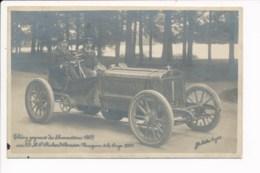 Carte  Théry Gagnant Des éliminatoires 1905 Sur 95 Richard Brasier Vainqueur De La Coupe 1905 ( Coupe Gordon Bennett ? - Motorsport