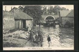 CPA Cany, Sur La Durdent - Francia