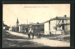 CPA Longeville-sur-Aine, Grande Rue - Unclassified