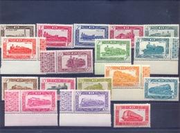 Nrs. TR304/TR320 Postgaaf ** MNH Prachtig LOCOMOTIEVEN 340 Côte - 1942-1951
