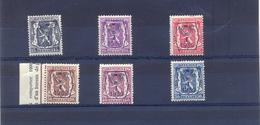 Nrs. PRE405/PRE410  Postgaaf ** Zeer Mooi - Typografisch 1936-51 (Klein Staatswapen)