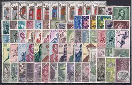 ESPAÑA 1962 Nº 1406/1480 AÑO NUEVO COMPLETO CON ESCUDOS,75 SELLOS - Espagne