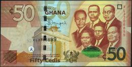 GHANA - 50 Cedis 01.07.2015 UNC P.42 C - Ghana