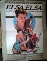 Aff Orig Ciné ELSA ELSA 1985 40X60 Lio François Cluzet Catherine Frot Darroussin - Affiches & Posters