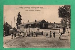 27 Eure Saint Aubin D' Ecrosville La Rentrée Aux Ateliers Du Docteur Auzoux - Saint-Aubin-d'Ecrosville