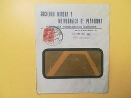 1932 BUSTA INTESTATA SPAGNA ESPANA BOLLO KING FERDINAL E CORDOBA PRO BENEFICENTIA ANNULLO OBLITERE' CENSURA MILITARE - 1931-50 Storia Postale