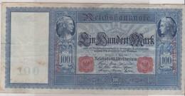 1 BILLET : 100 MARKS REICHBANKNOTE  BERLIN 1910 - 1878-1921: Morgan