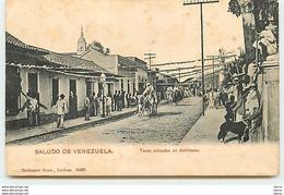 Saludo De VENEZUELA - Toros Coleados En Antimano - Venezuela