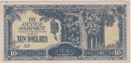1 BILLET : GOUVERNEMENT JAPONAIS - TEN DOLLARS - Emissioni Federali