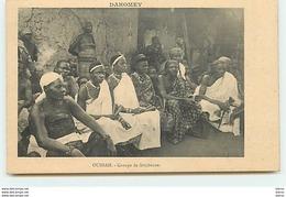 DAHOMEY - OUIDAH - Groupe De Féticheuses - Dahomey