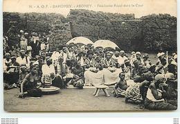 DAHOMEY - ABOMEY - Fétichisme Royal Dans La Cour - Dahomey