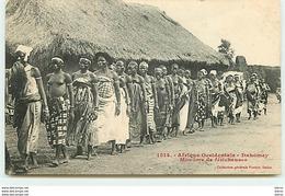 Afrique Occidentale - DAHOMEY - Monôme De Féticheuses N°1514 - Dahomey