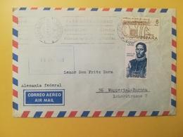 1969 BUSTA SPAGNA ESPANA BOLLO CONQUISTATORI CONQUEST OF AMERICA  ANNULLO MECCANICO PALMA DE MALLORCA OBLITERE' - 1931-Today: 2nd Rep - ... Juan Carlos I