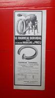 Ancienne Pub Automobile, Pneu Durandal Usines De Lécluse, Le Fourreau Durandal - Advertising
