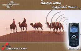 MONGOLIA - THEMATIC ANIMAS - CAMELS - Mongolië