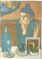 SAO TOME E PRINCIPE HOMENAJE A PICASSO ARTE PINTURA ART - Picasso