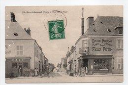 - CPA HENRICHEMONT (18) - Rue Victor-Hugo (EPICERIE PARISIENNE - CAFÉ) - Edition AUXENFANS 290 - - Henrichemont