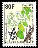 POLYNESIE 2016 - Yv. 1128 **  - Plante Médicinale 'Avaro'  ..Réf.POL25000 - Französisch-Polynesien