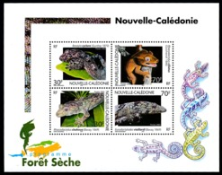 NOUV.-CALEDONIE 2003 - Yv. BF 29 **   Faciale= 1,68 EUR - Reptiles : Geckos  ..Réf.NCE24675 - Blocs-feuillets