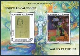 NOUV.-CALEDONIE 2003 - Yv. BF 28 **   Faciale= 1,68 EUR - Paul Gauguin. Emission Commune  ..Réf.NCE24674 - Blocs-feuillets