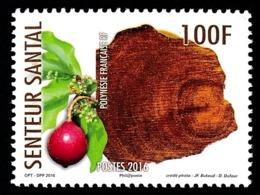 POLYNESIE 2016 - Yv. 1119 **  - Senteur: Santal  ..Réf.POL24997 - Polynésie Française