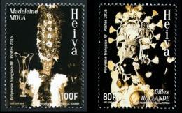 POLYNESIE 2016 - Yv. 1126 Et 1127 **  - Heiva (2 Val.) Concours De Chant Et Danse  ..Réf.POL24999 - Polynésie Française