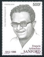 POLYNESIE 2016 - Yv. 1130 **  - F. A. Sanford, Homme Politique  ..Réf.POL25002 - Polynésie Française