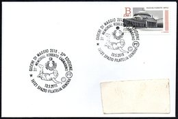 ITALIA GENOVA 2018 - 37^ GIOCHI DI MAGGIO - VOLLEYBALL - 21° MEMORIAL ROBERTO CARMARINO - SMALL SIZE COVER - Pallavolo