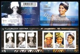 POLYNESIE 2016 - Yv. 1120 à 1125 = Carnet C1120 **  - Miss Tahiti (6 Val.) Autoadhésif  ..Réf.POL24998 - French Polynesia