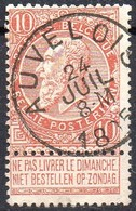 N° 57 Oblitération AUVELOIS - 1893-1900 Thin Beard