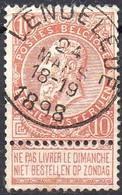 N° 57 Oblitération LENDELEDE (COBA + 30 €) - 1893-1900 Fine Barbe