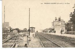 MESSAC GUIPRY. Gare. Train. - France
