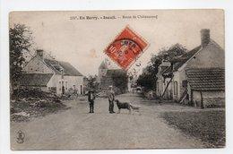 - CPA INEUIL (18) - Route De Châteauneuf 1908 (avec Personnages) - Edition AUXENFANS 2097 - - Otros Municipios