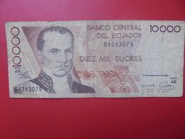EQUATEUR 10.000 SUCRES 1988-98 CIRCULER (B.9) - Equateur