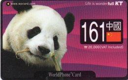 SOUTH KOREA - MAGNETIC - THEMATIC ANIMALS - PANDA - Corea Del Sur