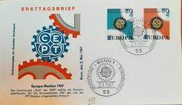 Germany BRD FDC 1967 CEPT - FDC: Sobres